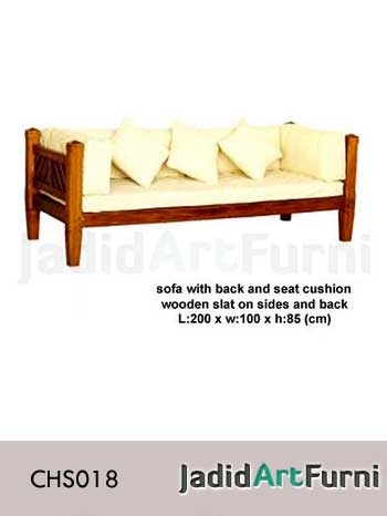 Sofa Minimalis dengan Jok